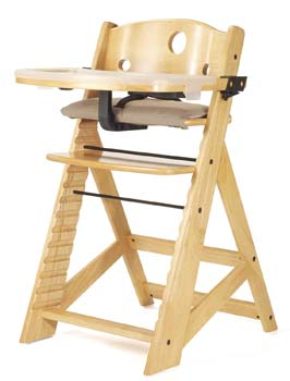 8: Keekaroo Height Right High Chair with Tray