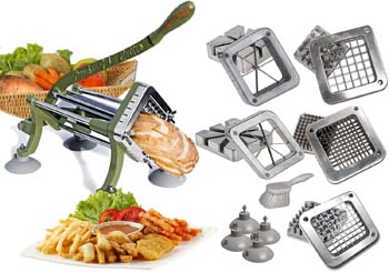 8: TigerChef commercial French fry cutter Heavy Duty Grade French Fry Cutter