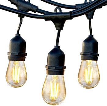2: Brightech Ambience Pro - Waterproof LED Outdoor String Lights