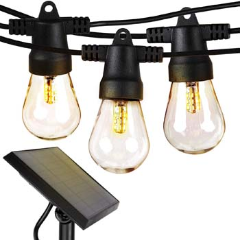 8: Brightech Ambience Pro - Waterproof LED Outdoor Solar String Lights