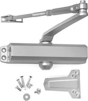 9: Lawrence Door Closer Grade 2 Medium Duty