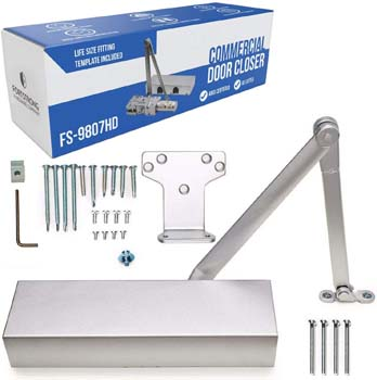 1: Fortress Hardware Company Ultra Heavy Duty Door Closer