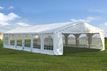 2: DELTA Canopies Budget PVC Party Tent Canopy Shelter 40'x20'