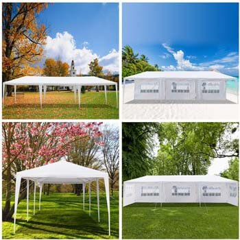 9: PEATAO Canopy Tent, Commercial Instant Tent