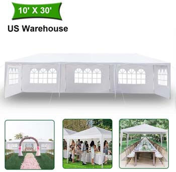 4: MTFY Outdoor Canopy Tent, Portable Gazebo Canopy Tent