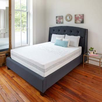8. Classic Brands Engage 11-Inch Hybrid Cool Gel Memory Foam and Innerspring Mattress, Twin