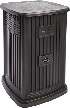 5. AIRCARE EP9 800 Digital Whole-House Pedestal-Style Evaporative Humidifier, Espresso