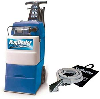 10. Rug Doctor 95735 Wide Track Carpet Cleaner with Upholstery Cleaner