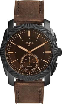 10. Fossil Men's Machine Stainless Steel Hybrid Smartwatch