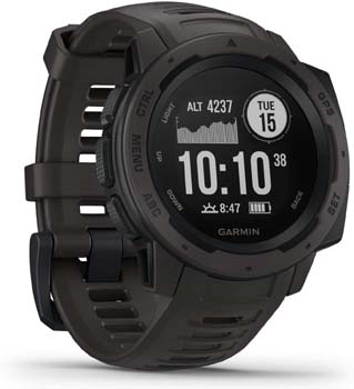 1. Garmin Instinct, Rugged Outdoor Watch