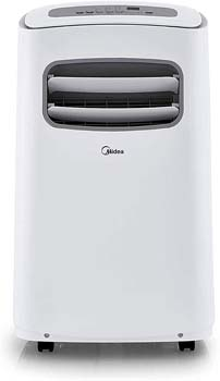 9. MIDEA MPF14CR81-E Portable Air Conditioner 14000 BTU Easycool AC