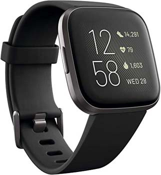 9. Fitbit Versa 2 Health & Fitness Smartwatch