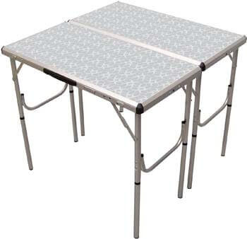 4. Coleman Pack-Away 4-in-1 Adjustable Height Folding Camping Table