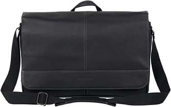 9. Kenneth Cole Reaction Come Bag Soon Colombian Leather 15.6