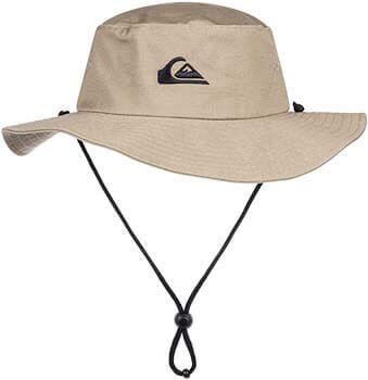 10. Quiksilver Men's Bushmaster Floppy Sun Beach Hat