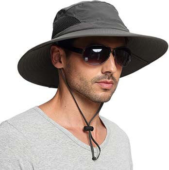 1. EINSKEY Sun Hat for Men/Women, Summer Outdoor Sun Protection Wide Brim Bucket Hat