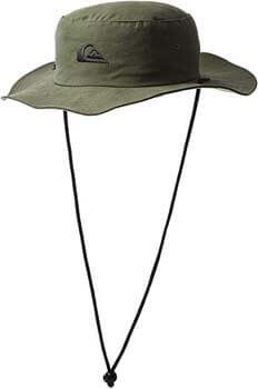 8. Quiksilver Men's Bushmaster Sun Protection Hat