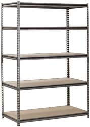 3. Hardware & Outdoor Heavy Duty Garage Shelf Steel Metal Storage
