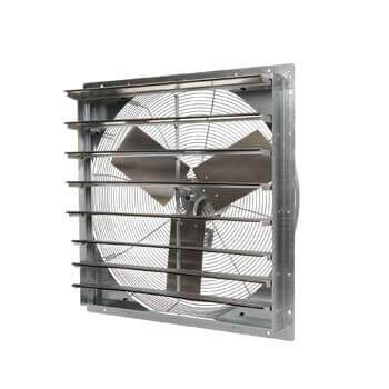 2. TPI Corporation CE30-DS Direct Drive Exhaust Fan