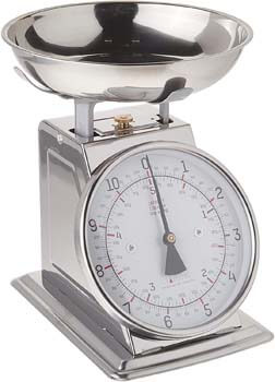 7. Taylor Stainless Steel Analog Kitchen Scale