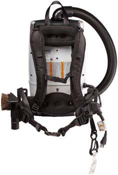 8. ProTeam Backpack Vacuums - ProVac FS 6 Commercial Backpack Vacuum with HEPA