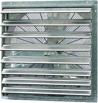 3. Iliving 30 Inch Single Speed Shutter Exhaust Fan