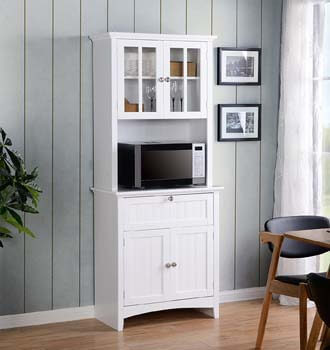 3. American Furniture Classics Home and Office Buffet and Hutch