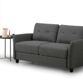 2. Zinus Contemporary Upholstered 62.2in Sofa Couch