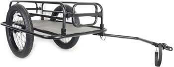 4. Cycle Force Trail-Monster Cargo Trailer, Matte Black
